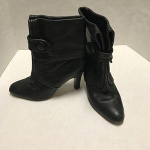 Frye Ava Button Ankle Boots